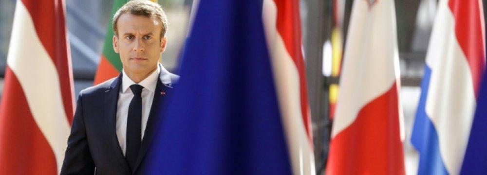 French President Macron to Renew Plea for Closer Europe
