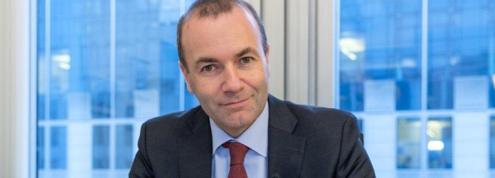 German Conservative Weber Bids for Top EU Job
