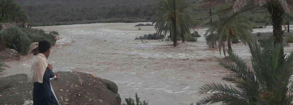 Flooding in Sistan