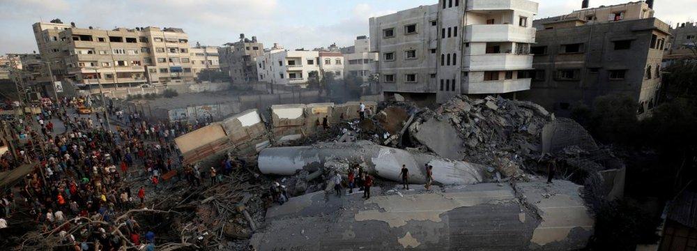 Tension Running High in Gaza