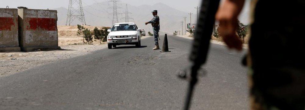 Heavy Fighting in Ghazni as Afghan Forces Battle Taliban