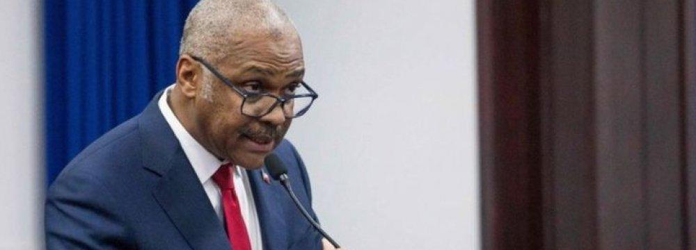 Haiti Prime Minister Resigns