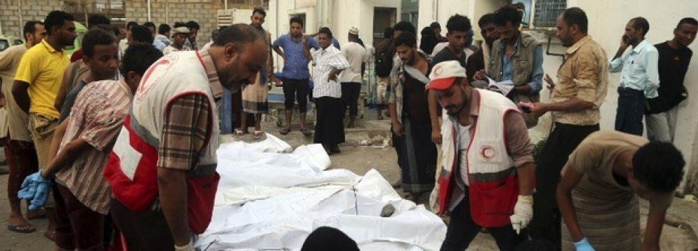 Dozens Killed in Saudi Air Raids on Hodaida