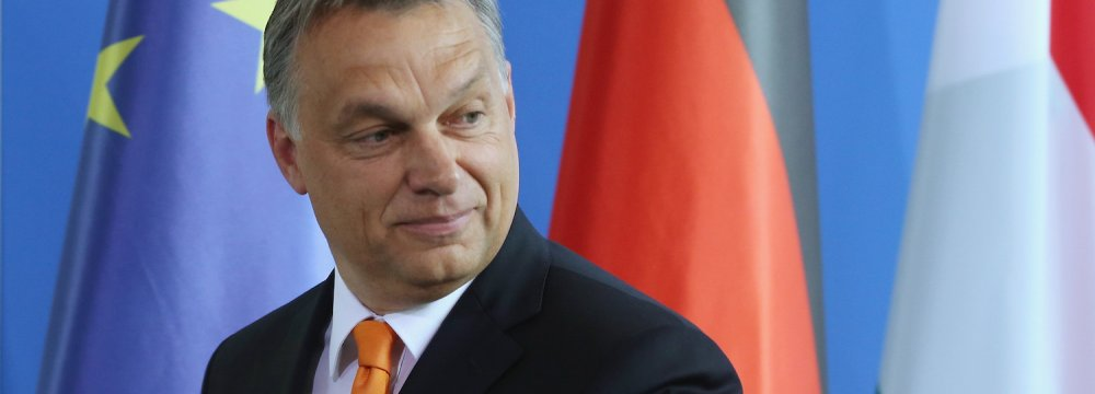 Orban Digs in Against EU Commission on Migration Policy