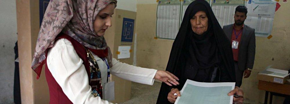 Abadi's Rivals Surge in Iraq Vote