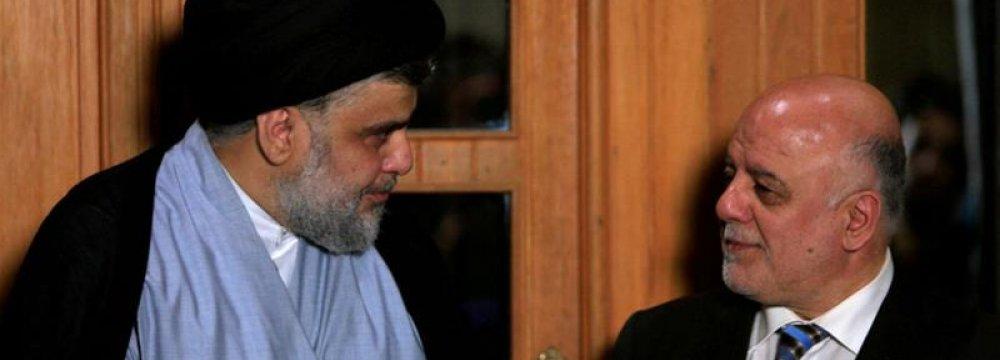 Major Iraqi Political Factions in Coalitions Talks