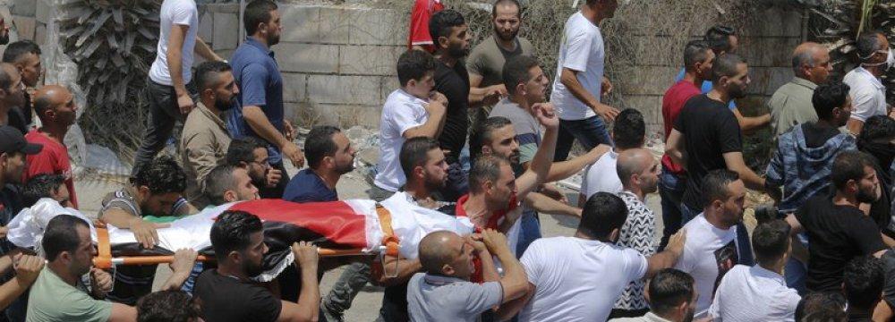 Israeli Raids Kill 2 Palestinian  Teenagers in Gaza