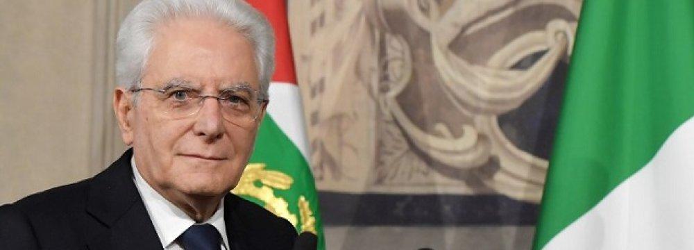 Italy's President Slams Talk of Closing Borders as Irresponsible