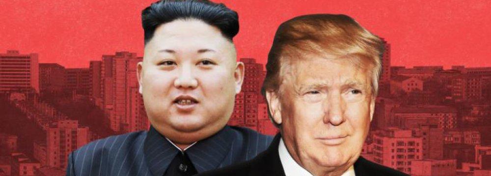 Trump Seeks to Placate Kim Over Uncertain Summit