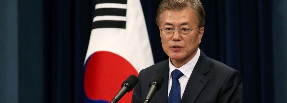 Moon Presses for Breakthrough in N. Korea Nuclear Talks