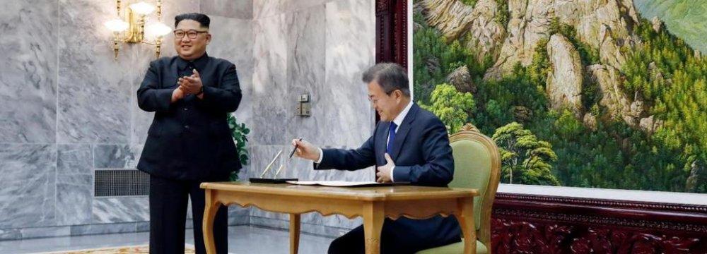 US Team in N. Korea Raises Expectations of Trump-Kim Summit