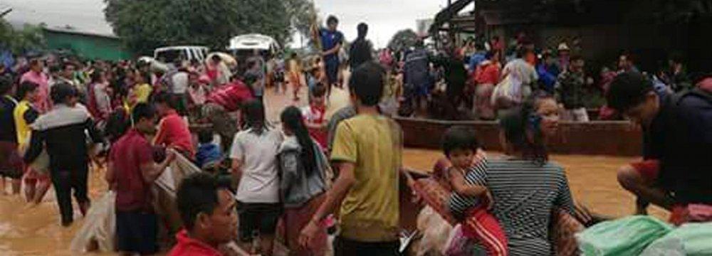 Laos Dam Disaster Kills 19