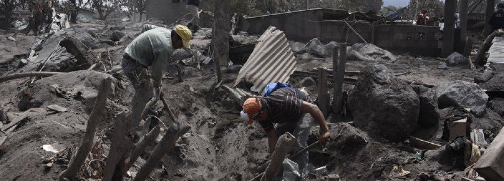 New Volcano Evacuations in Guatemala