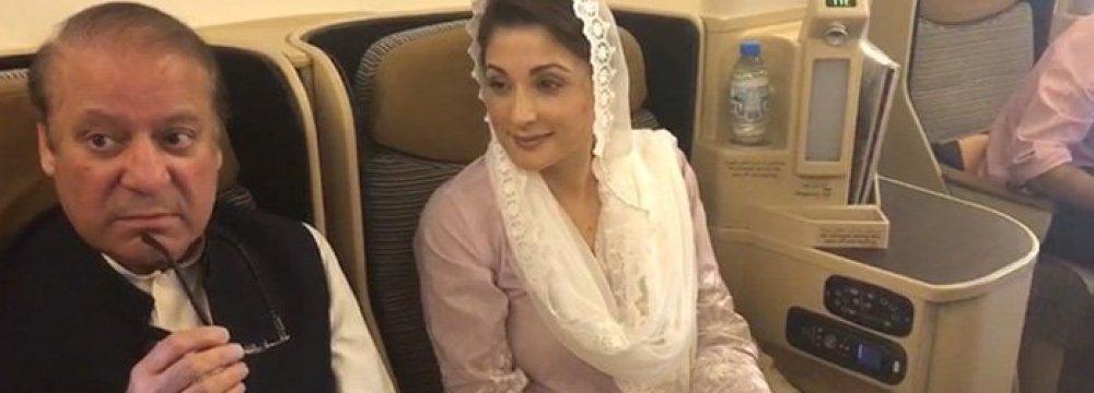 Pakistan Opens Criminal Case  Against Ousted Premier's Party