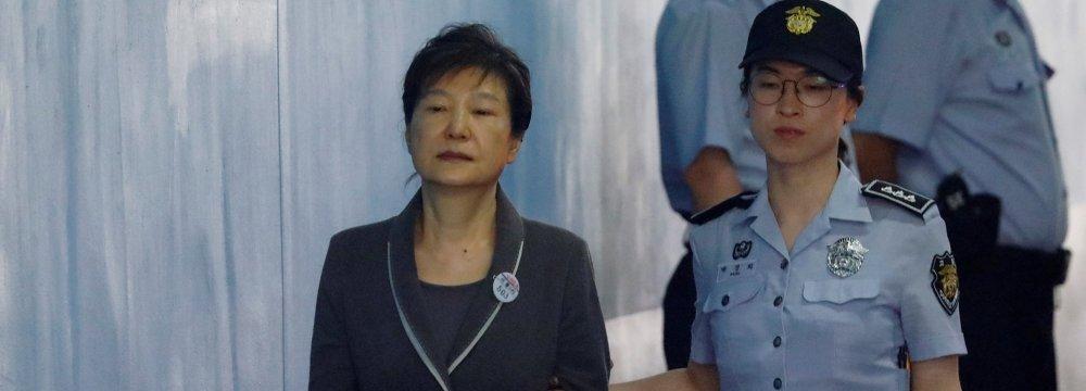 South Korea's  Ex-President Gets Longer Jail Term