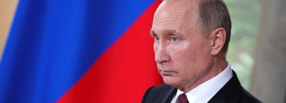 Putin: Certain States Play Into Hands of Terrorists