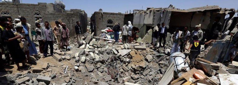 Saudi-UAE Air Raids Target Yemen's Hodaida