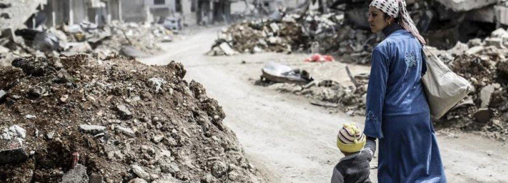 Civil War Has Cost Syria $388b in Damage