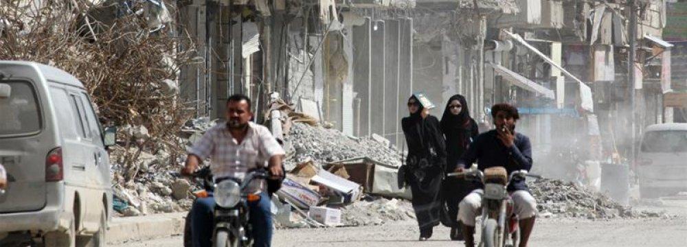 US in Denial of Civilian Casualties in Raqqa
