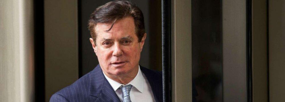 Manafort, Mueller Reach Tentative Plea Deal
