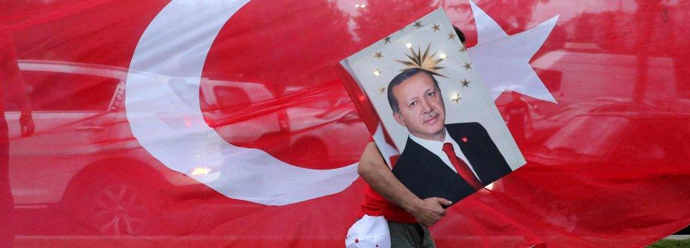 Turkey's Triumphant Erdogan Set to Assume Sweeping Powers
