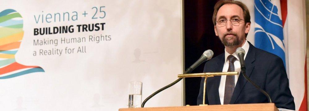 Human Rights in Tight Corner