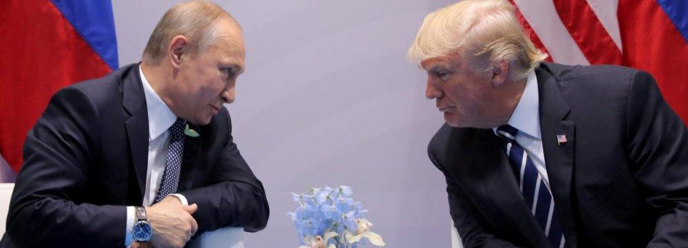 Vienna May Host Putin-Trump Summit