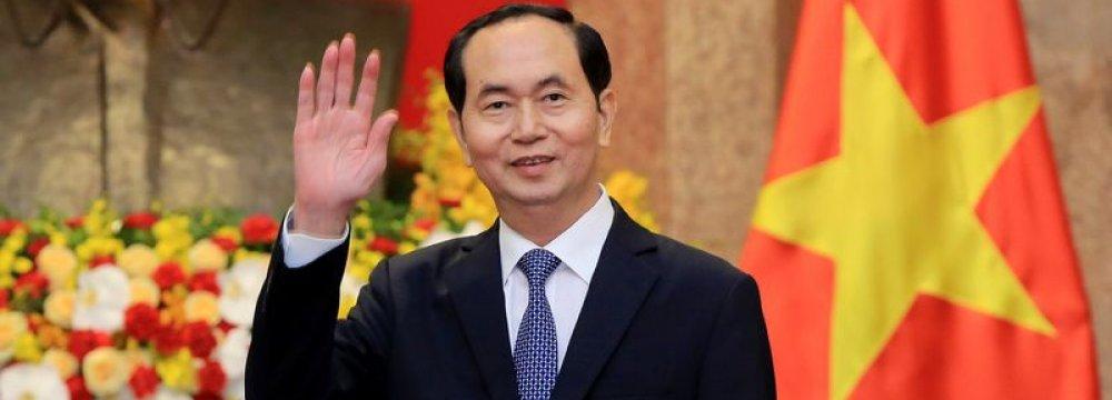 Vietnamese President Dies