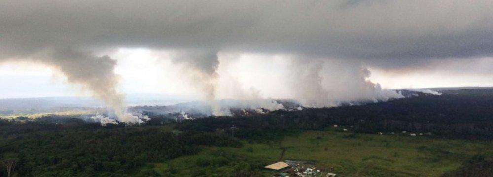 New Eruption at Hawaii Volcano