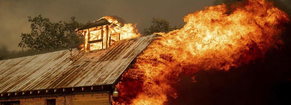 Fatal Wildfire Rips Through California Towns