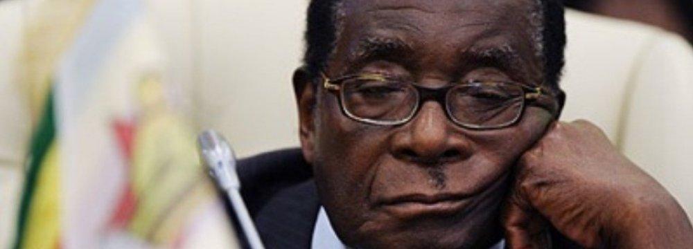 Zimbabwe Parliament Summons Mugabe Over Diamond Case