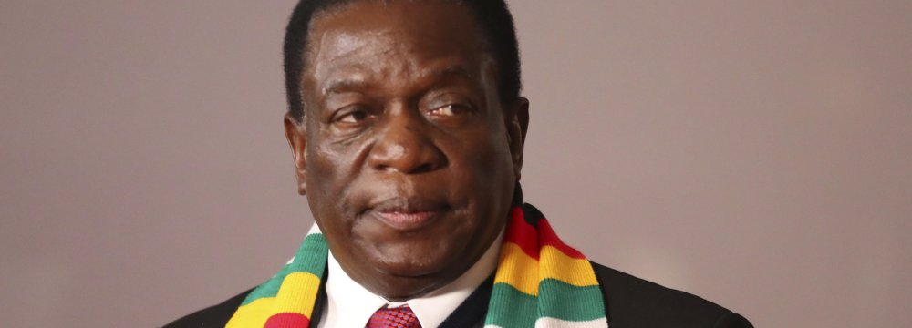Zimbabwe Opposition Cries Foul as Mnangagwa Claims Victory