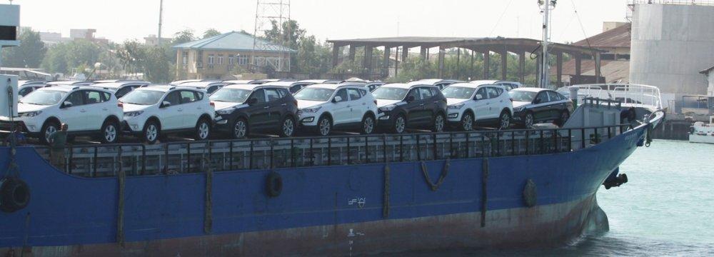 Iran Halts Car Imports