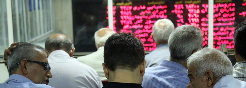 Tehran Stocks Shed 1,000 Points