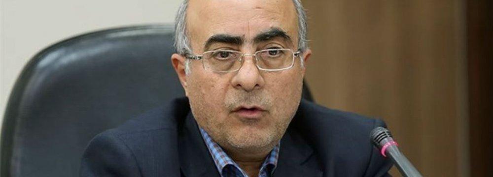 Central Bank of Iran Vice Governor Akbar Komijani