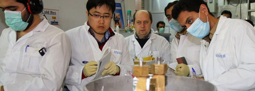 According to figures released by IAEA, the agency conducted 25 snap inspections in the first 12 months since the JCPOA was implemented in Jan. 2016.