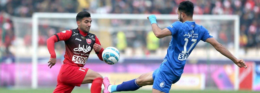 Esteghlal Wins 84th Derby