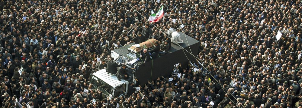 Huge Crowds Bid Emotional Farewell to Hashemi