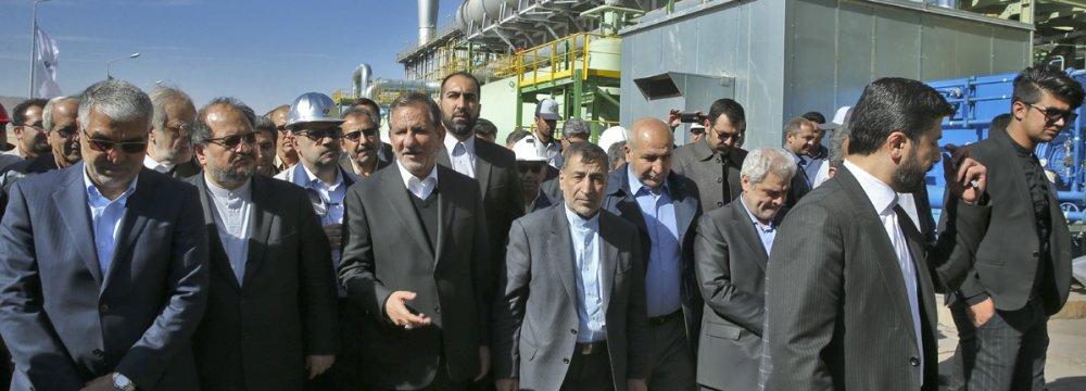 New DRI Plant Comes  on Stream in Fars Province