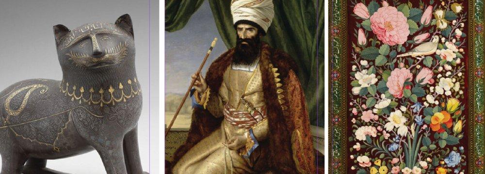Louvre-Lens Highlights  Qajar Era Masterpieces