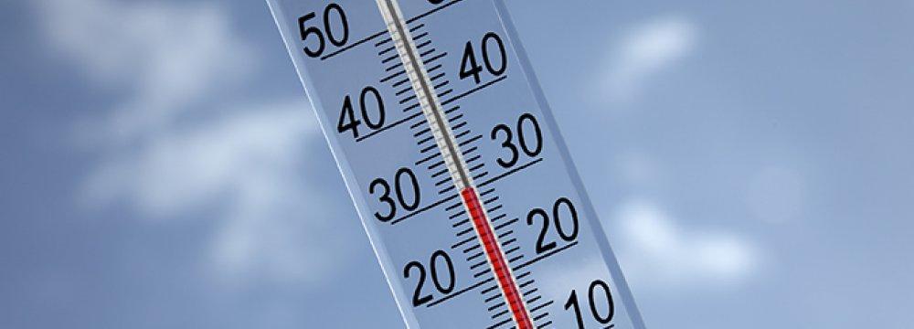 Drop in Temperature Forecast for Tehran