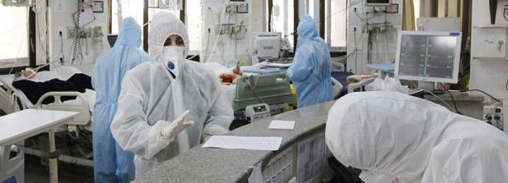 Virus-Related Hospital Visits Rise in Tehran