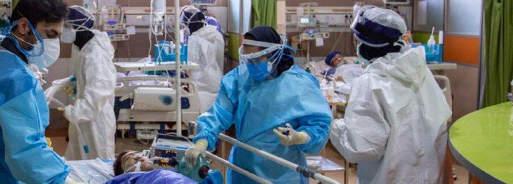 Iran Daily Virus Deaths Hit Record High
