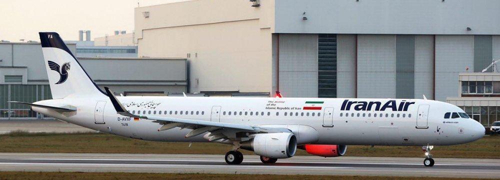 Iran Receives 1st Airbus Jet