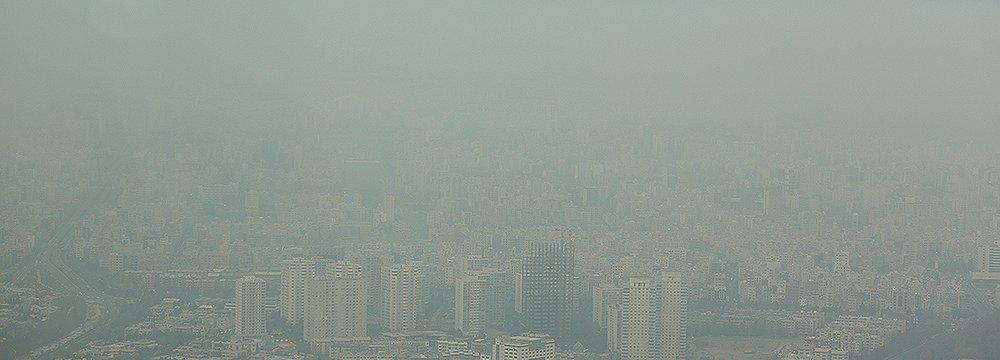 Tehran Air Pollution Worsens