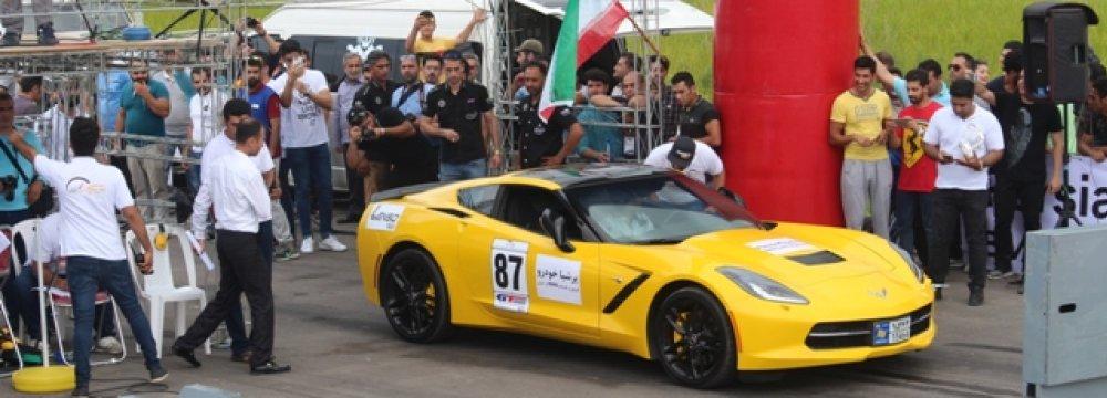 Drag Racing at Aras Free Trade Zone