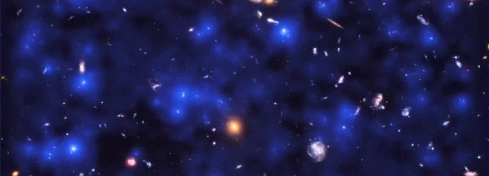 Telescope Captures Invisible Blue-Velvet Glow of Deep Space