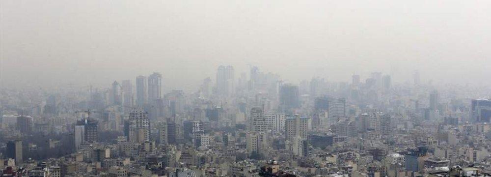 Autumn Heralds Pollution Season in Tehran