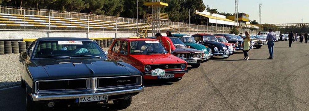 Tehran Hosts 3-Day Classic Car Rally