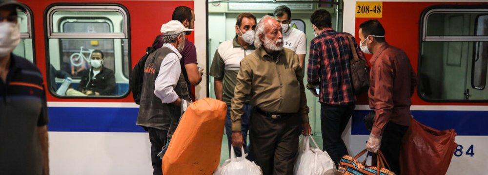 Covid-19 Saddles Tehran Metro With Losses Worth $11 Million